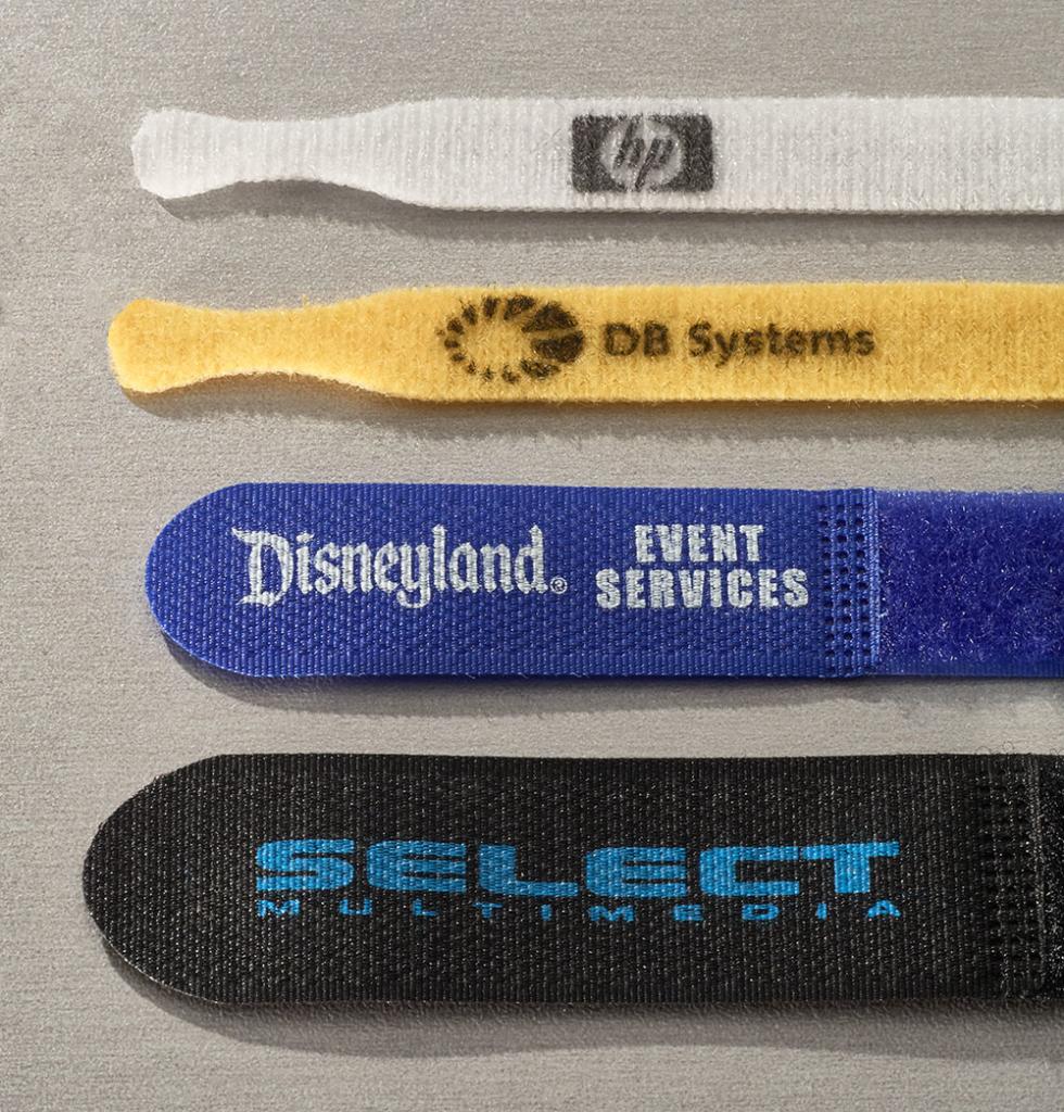 custom velcro cable ties