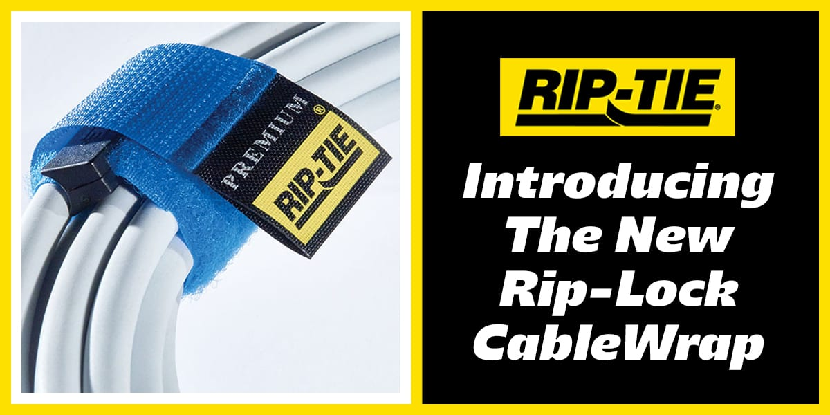 New Rip-Lock velcro Cable Wrap